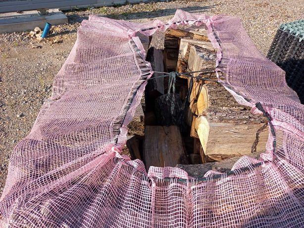 Drewno kominkowe, opałowe. Dąb, buk. Klasa S2B