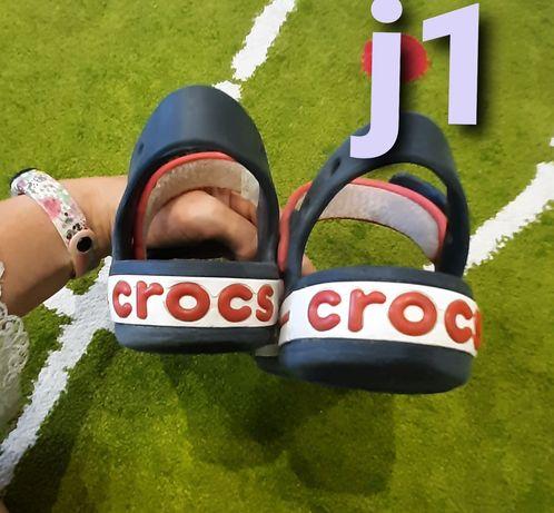 Crocs j1  31- 32 оригинал сандалии босоножки для мальчика