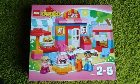 Lego Duplo 10587 Kawiarenka Kawiarnia JAK NOWE, Pudełko