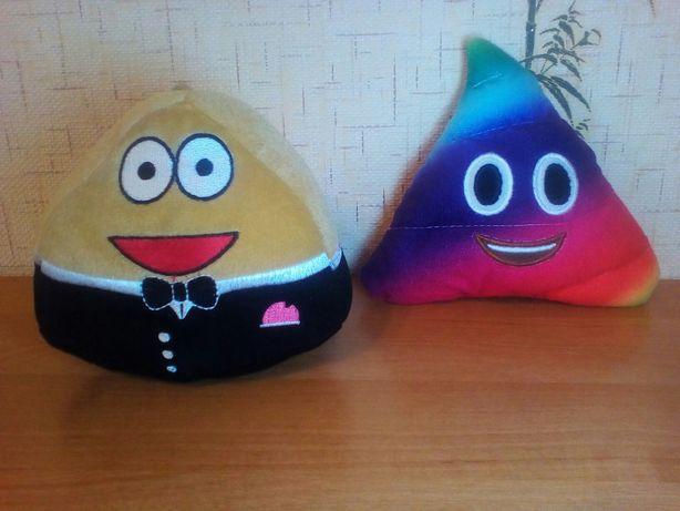 Мягкая игрушка Пу и Кака Pou плюш