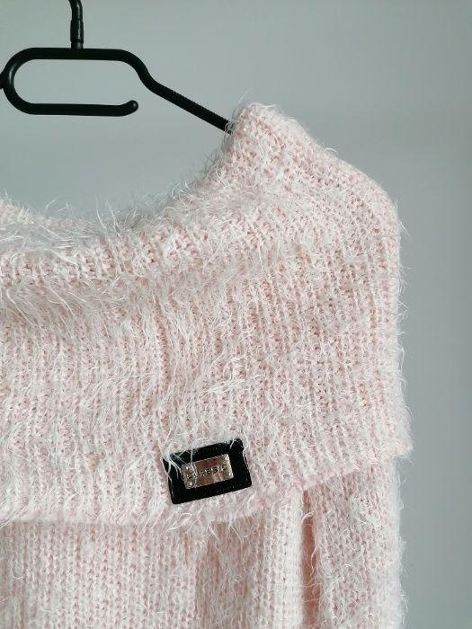 Sweter damski moher różowy S Gdańsk - image 1