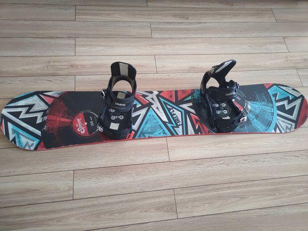 Deska Snowboardowa Firefly The Spoin 155 wiazania Burton M/L