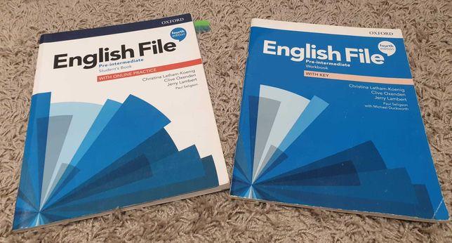 English File: Pre-Intermediate: Student's Book and Workbook