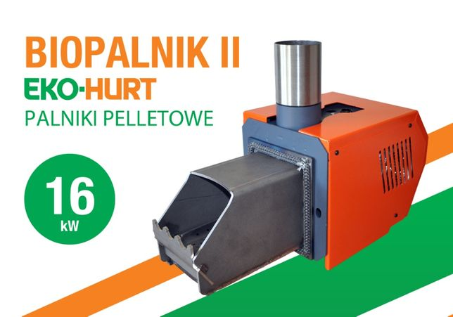 Palnik pelletowy 16 kW BIOPALNIK II palnik kocioł PELLET Modernizacja