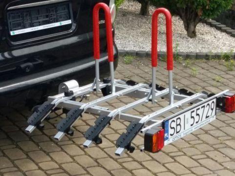 Bagażnik platforma rowerowa 1 do 4 rowery
