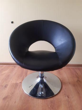 Fotel obrotowy chrom