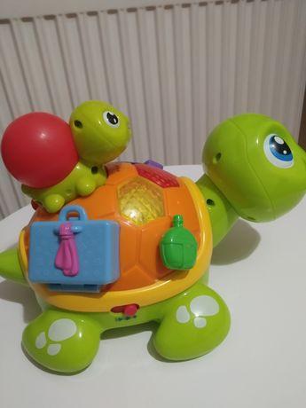 Żółw i żółwiątko elefun