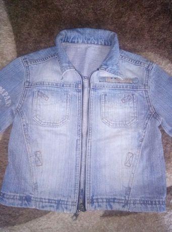 Джинсовый пиджак для мальчика