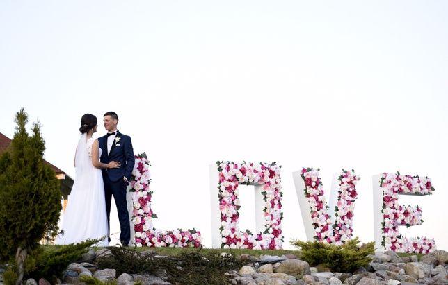 Napis LOVE Kwiaty ostatnie terminy 2020