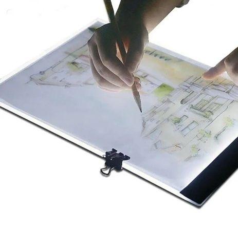 Световой планшет. Led доска. LED-подсветки от USB
