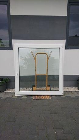 Okno PCV Plastikowe 107 x 113 OKNA z demontażu Używane WYSYŁKA od ręki