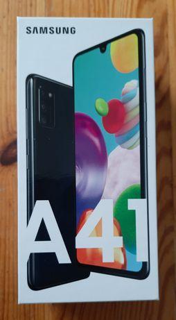 Galaxy A41,nowy,czarny