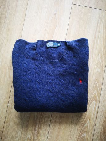 Granatowy sweterek męski Ralph Lauren XXL