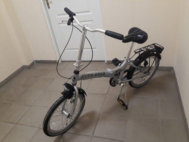 Велосипед складной  ALU CITY STAR