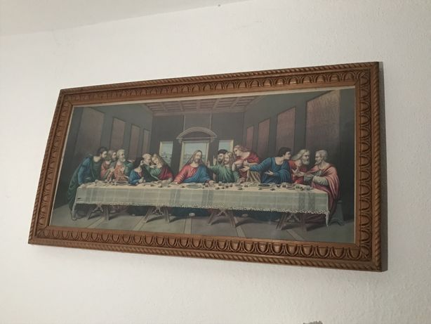 Quadro ultima seia de Jesus