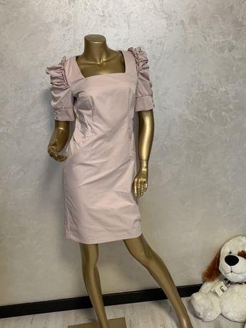 Платье пудра праздничное