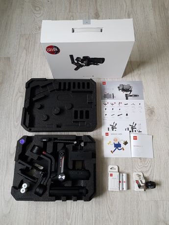 Zhiyun Weebill S gratis 4 sztuki baterii oraz Quick setup kit !