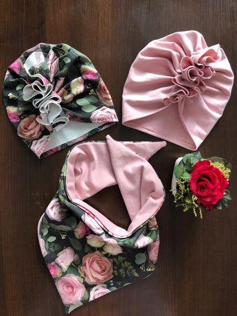 NOWE turbany komplety opaski chusta turban