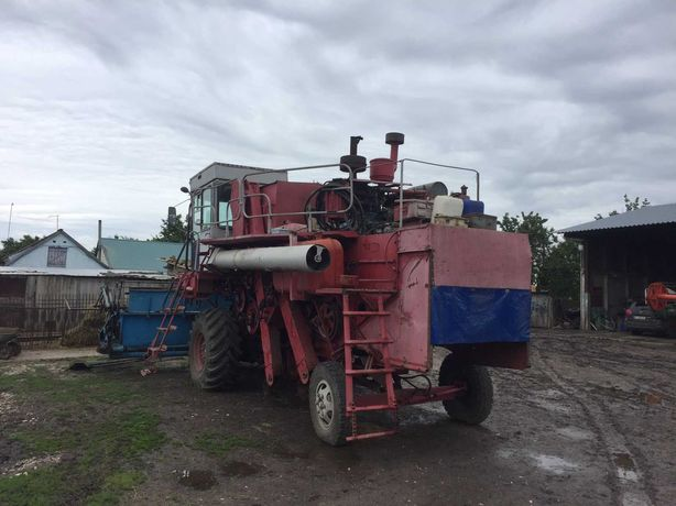 Комбайн Енисей-1200 Н1 с жаткой 5м. после ремонта готов в поле