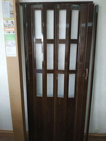 Дверь гармошкой межкомнатная ассортимент размеры доставка из Днепра