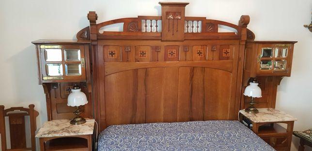 Mobília Completa de Quarto Arte Nova