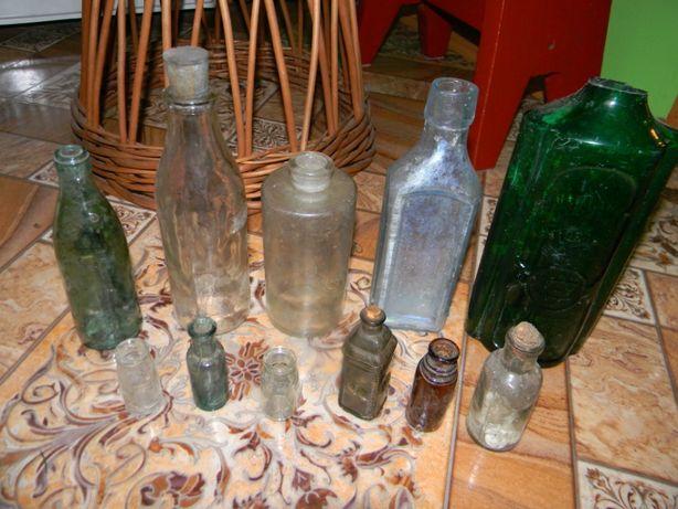 Stare butelki zestaw płyn Scotta Hartwig Posen