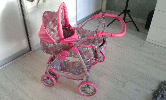 Wózek+spacerówka i lalka