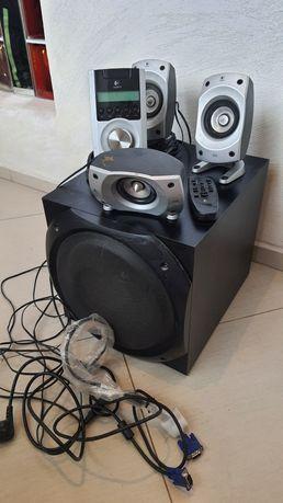 Głośniki  komputerowe logiteh thx 5500