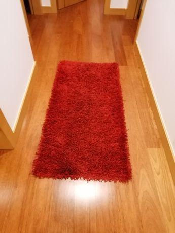 Conjunto de Tapete e carpete de pêlo alto