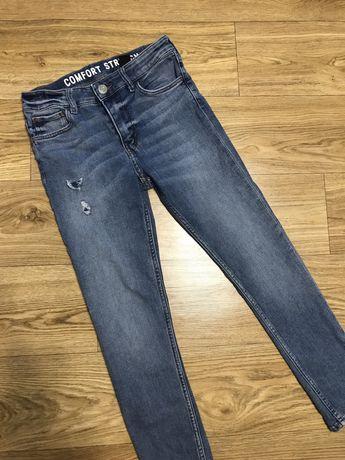 10-11 лет H&M джинсы на мальчика 10-11 лет