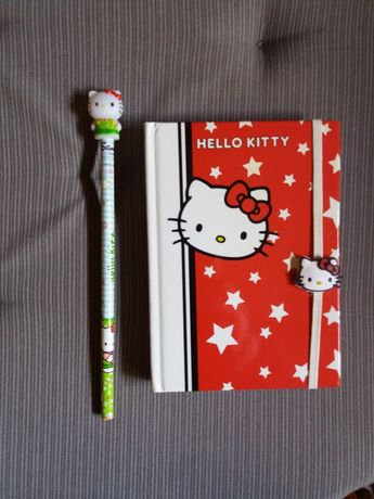 Bloco de notas Hello Kitty