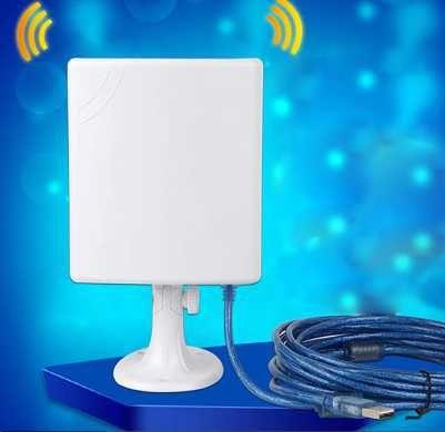 Antena Wifi longo alcance + router para autocaravanas