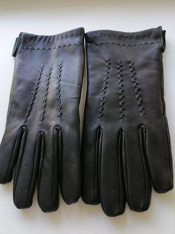 Кожанные перчатки муж. ХL.