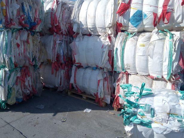 Worki Big Bag Używane wysokość 180cm Bez Folii Jak Nowe Hurtownia