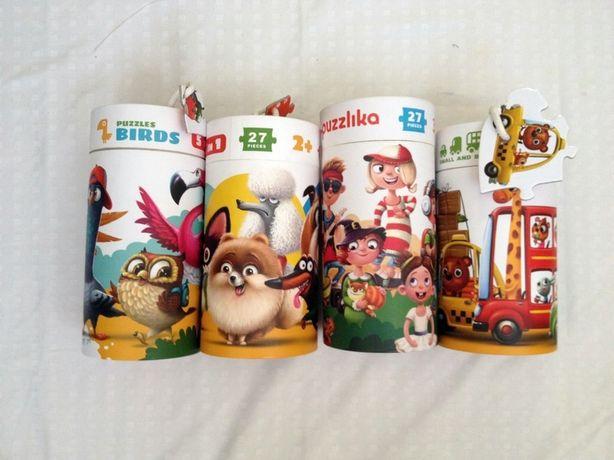 пазлы украинской торговой марки Puzzlika.