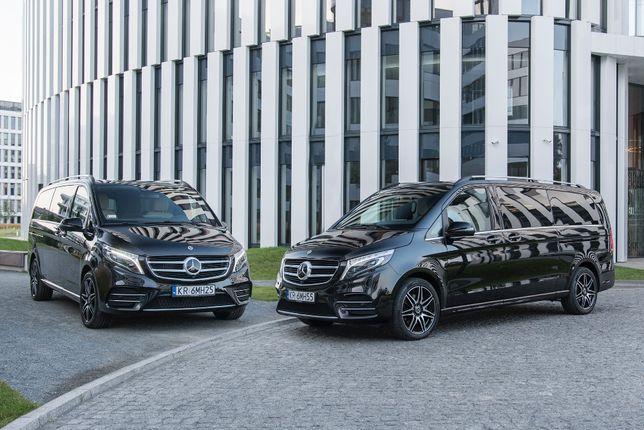Mercedes V klasa - Wynajem busa - Wypożyczalnia - VIP - Gdańsk