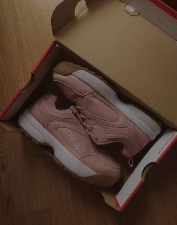 Nowe oryginalne buty Fila różowe 36