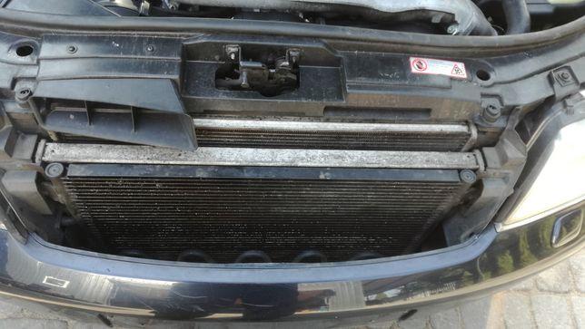 Pas przedni chłodnica klimy i wody Audi A6 C5