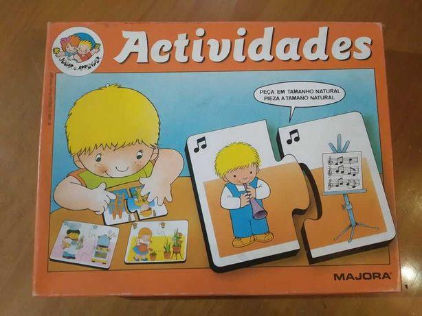Puzzle sobre Actividades