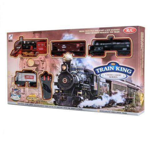 Железная дорога на р/у shantou jinxing train king choo choo