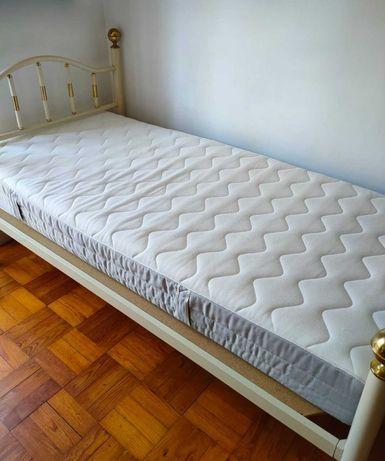 Colchão de molas para cama solteiro Ikea