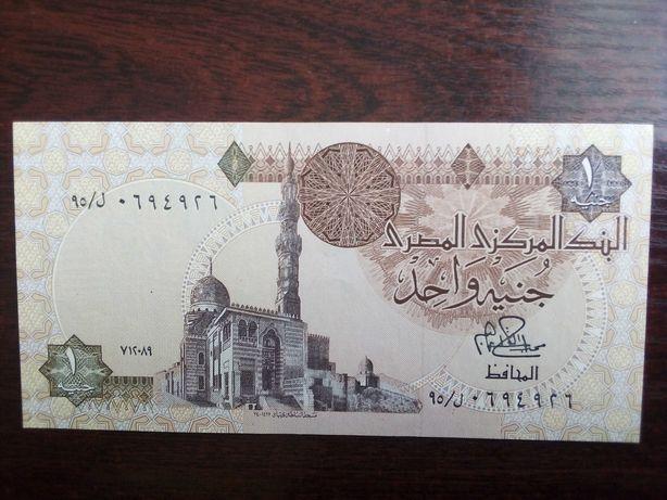 Banknot 1 funt Egipt