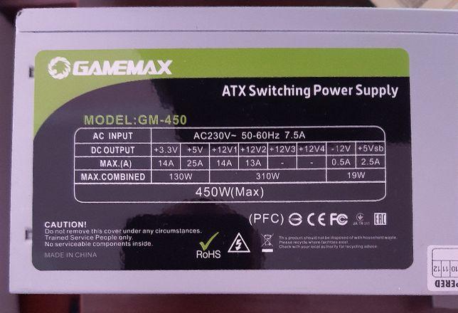 Блок питания GameMax GM450 OEM (GM-450)