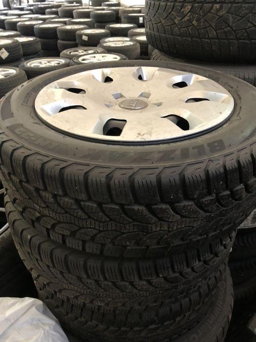 Felgi stalowe AUDI VW 15 5x100+ opony  185/60r15! Wałbrzych - image 1