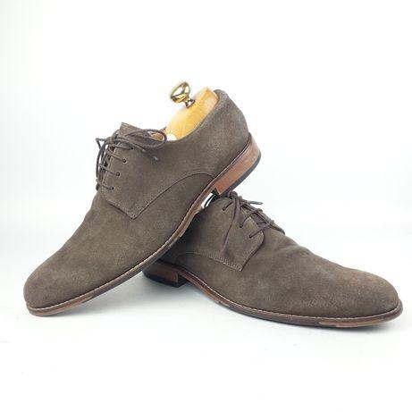 DUNE London męskie buty rozm 41 skóra derby brogsy oxfordy