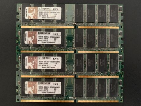 Kingston 512 MB DDR RAM 333MHz DIMM 2.5V