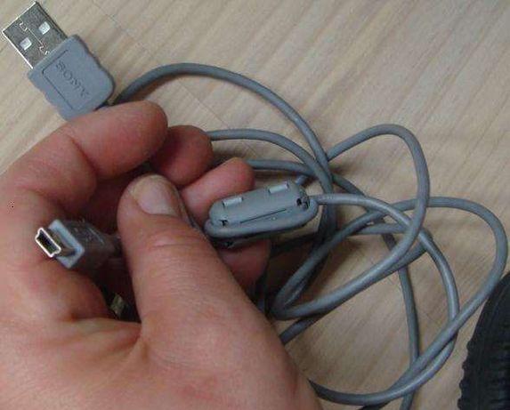 Przewód SONY USB 2.0 mini B 5 pin - do transmisji danych na laptop