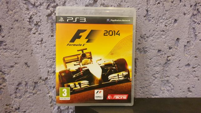 F1 2014 / PS3 / PL / PlayStation 3 / Formuła 1