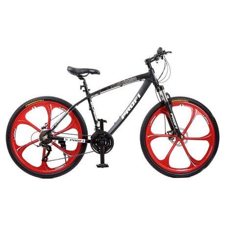 Спортивний велосипед 26 дюймів Profi T26BLADE 26.1 W Чорно-червоний