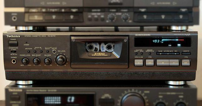 Magnetofon TECHNICS RS-BX701 3Head , 3 głowice Deck